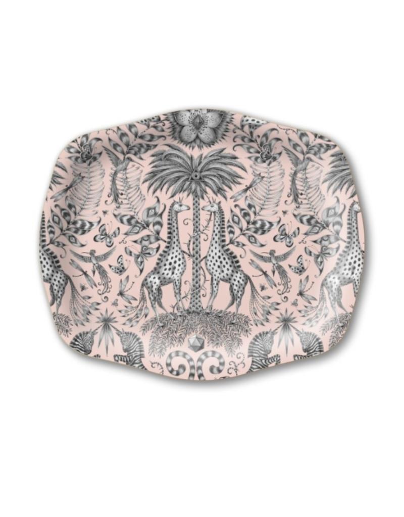 Emma J Shipley Kruger Pink Medium Arched Tray