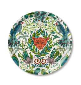 Emma J. Shipley Emma J Shipley Amazon Green Medium Round Tray