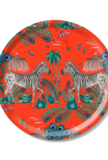 Emma J. Shipley Emma J Shipley Tray Round 39cm Lost World Red