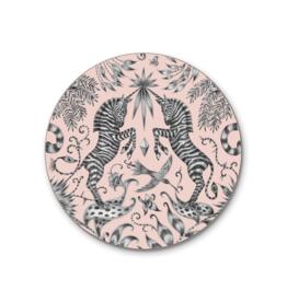 Emma J. Shipley Emma J Shipley Kruger Pink Coaster