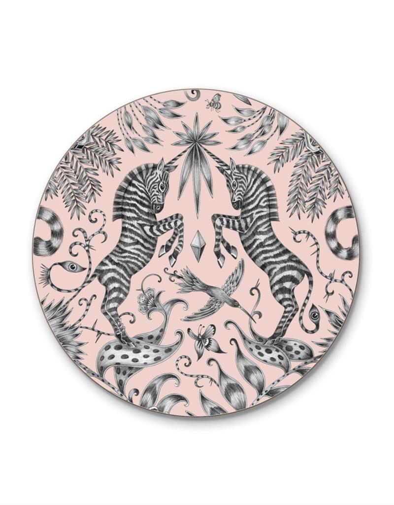Emma J. Shipley Emma J Shipley Coaster 10cm Kruger Pink