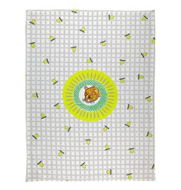 BITOSSI Bitossi Tiger Lemon Tea Towel