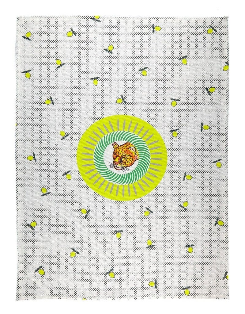 BITOSSI Bitossi Tiger Lemon Tea Towel