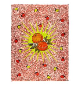 BITOSSI Bitossi Orange Burst Tea Towel