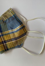 Tracy Feith Tracy Feith Fall Gingham Face Mask