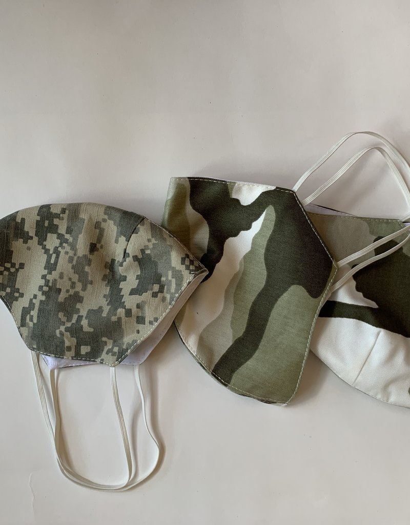 Tracy Feith Tracy Feith Desert Camo Face Mask