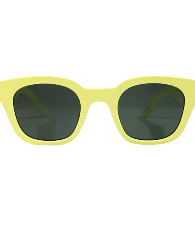 Carla Colour Carla Colour Warsaw Acid Yellow Sunglasses