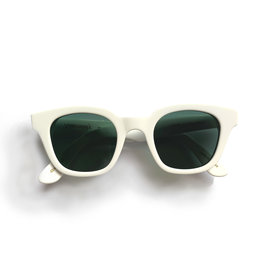 Carla Colour Carla Colour Warsaw Optic White Sunglasses