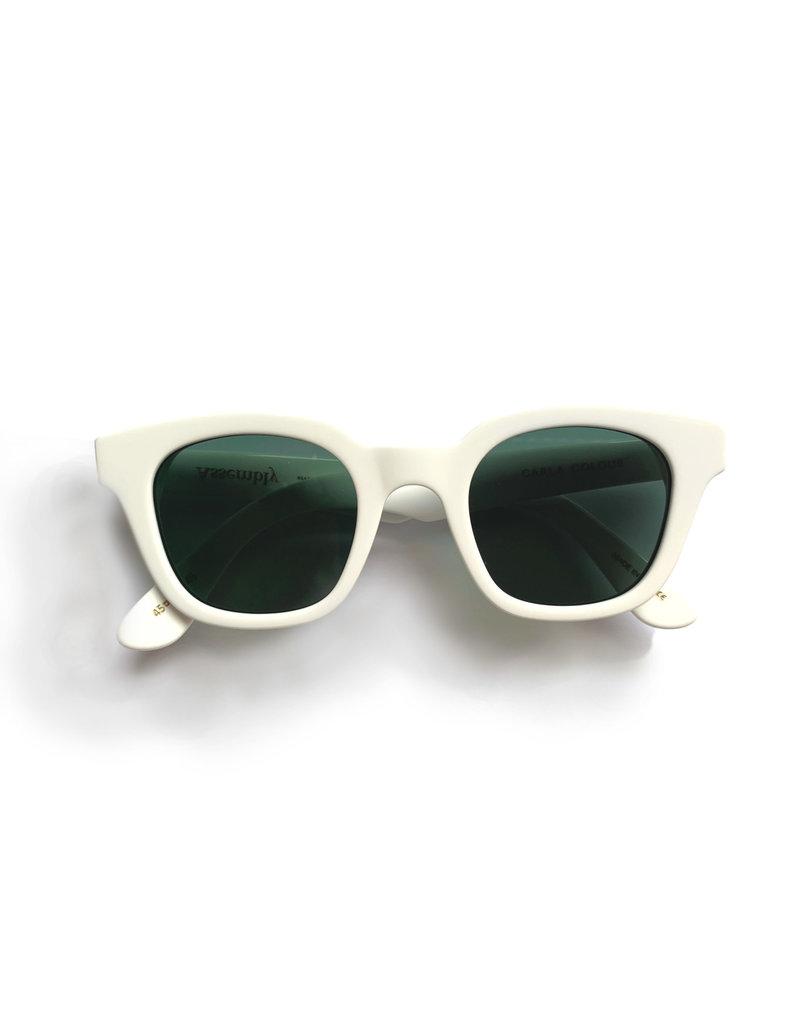 Carla Colour Carla Colour Warsaw Optic White Sunglasses