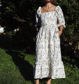 Meadows Meadows Bloom Dress, English Stems