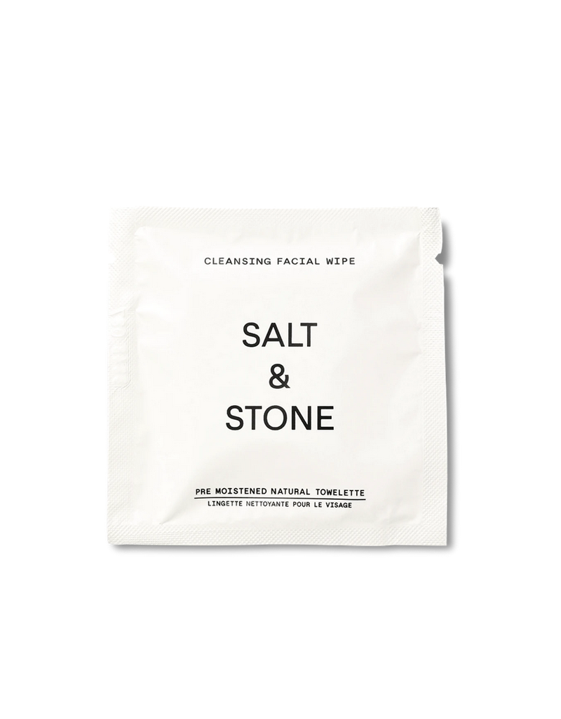 Salt and Stone Salt and Stone Cleansing Facial Wipes
