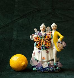 Jen Deibert Couple Crystal Statue