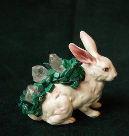 Jen Deibert Rabbit Crystal Statue