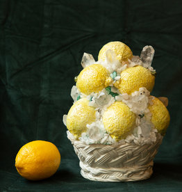 Jen Deibert Lemon Bowl Crystal Sculpture