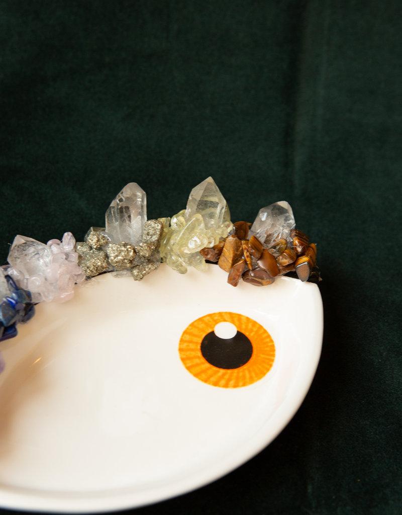 Jen Deibert Eye Crystal Sculpture