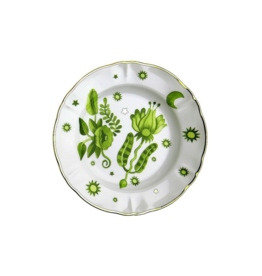 BITOSSI Bitossi Fruit Plate Floral Green