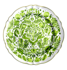 BITOSSI Bitossi Round Platter All Over Green