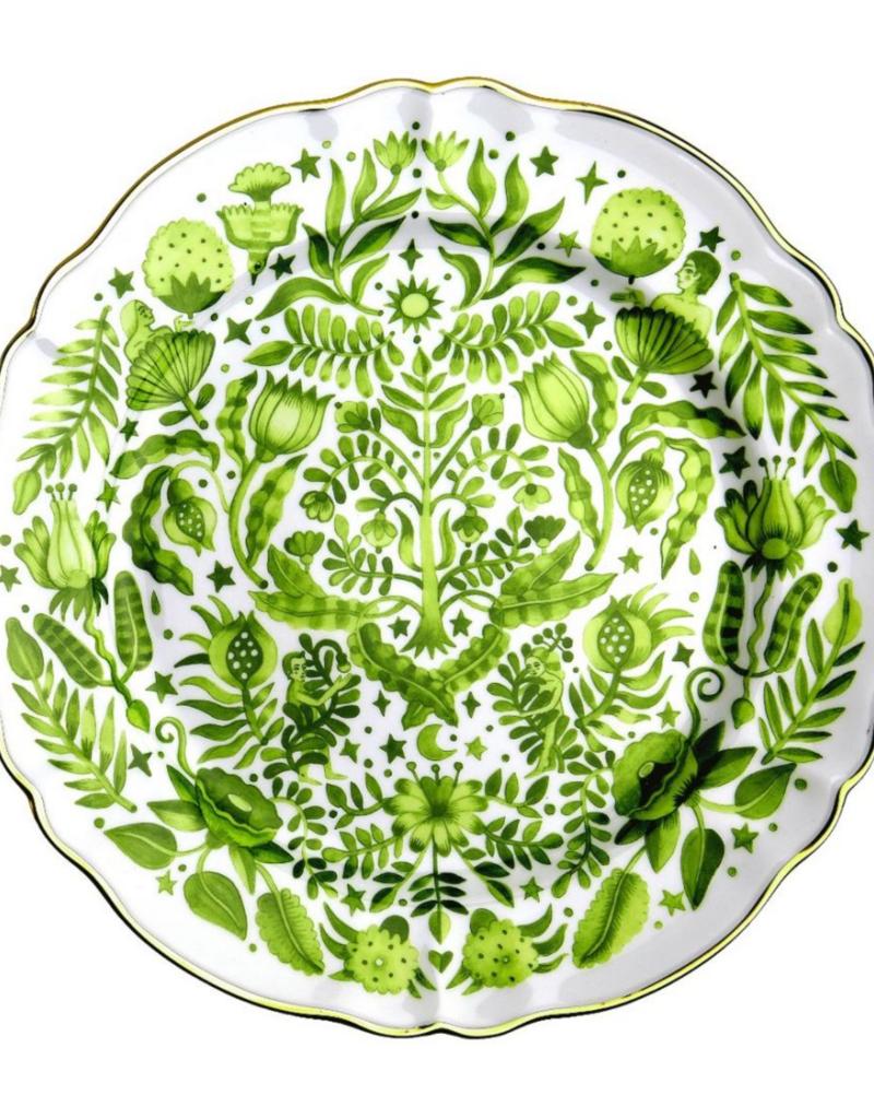 BITOSSI Bitossi Round Platter All Over Green