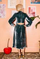 Kurt Lyle Kurt Lyle Duke Dress Teal