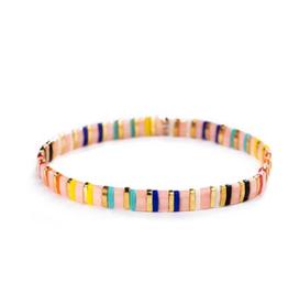 SHASHI SHASHI Tilu Bracelet - Pink Rainbow