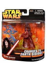 Hasbro Star Wars Revenge of the Sith Emperor Palpatine Action Figure Glowing Force Lightning
