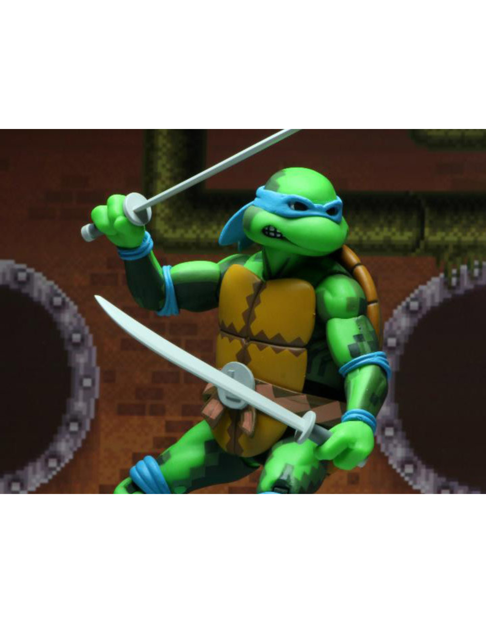 NECA TMNT: Turtles in Time Leonardo