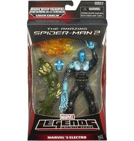 Hasbro The Amazing Spider-Man 2 Marvel Legends Green Goblin BAF Series Marvel's Electro Action Figure
