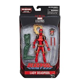 "Hasbro Deadpool Marvel Legends 6"" Lady Deadpool (Sauron BAF)"