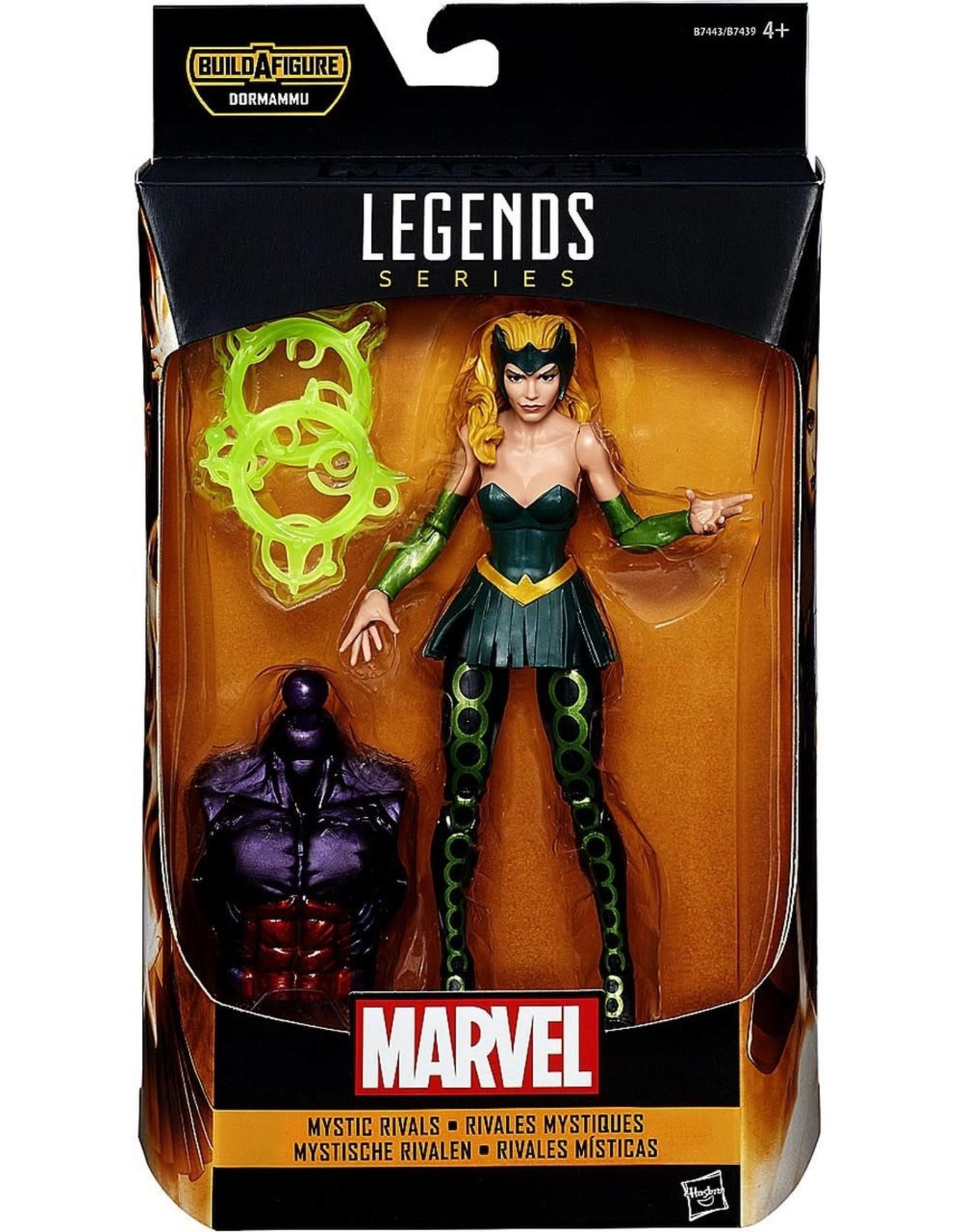 """Hasbro Doctor Strange Marvel Legends 6"""" Mystic Rivals Marvel's Enchantress Action Figure (Dormammu BAF)"""