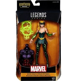 "Hasbro Doctor Strange Marvel Legends 6"" Mystic Rivals Marvel's Enchantress Action Figure (Dormammu BAF)"