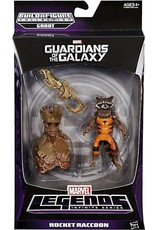 Hasbro Guardians of the Galaxy Marvel Legends Infinite Series Rocket Raccoon Action Figure (Groot BAF)