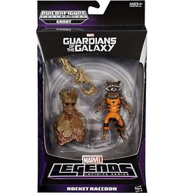 Hasbro Guardians of the Galaxy Marvel Legends Infinite Series Rocket Raccoon Action Figure (Groot BAF)