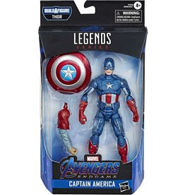 "Hasbro Avengers Endgame Marvel Legends 6"" Captain America Action Figure (Thor BAF)"