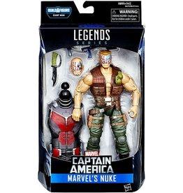 "Hasbro Captain America Marvel Legends 6"" Marvel's Nuke Action Figure (Giant Ant-Man BAF)"