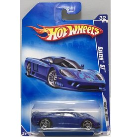 Mattel HOT WHEELS 2008 ALL STARS SALEEN S7 #32/36 BLUE FACTORY SEALED