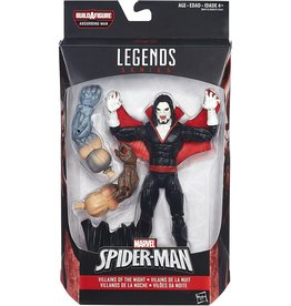 Hasbro Spider-Man Marvel Legends Villains of the Night: Morbius Action Figure (Absorbing Man BAF)