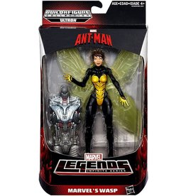 "Hasbro Ant Man Marvel Legends 6"" Infinite Series Wasp Action Figure (Ultron BAF)"