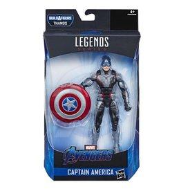 """Hasbro Avengers Endgame Marvel Legends 6"""" Captain America Action Figure (Thanos BAF)"""