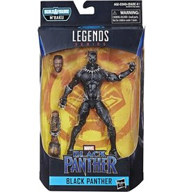 "Hasbro Black Panther Marvel Legends 6"" Black Panther (M'Baku BAF)"