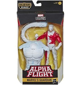 """Hasbro Alpha Flight Marvel Legends 6"""" Marvel's Guardian (Wendigo BAF)"""