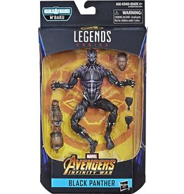 "Hasbro Avengers: Infinity War Marvel Legends 6"" (Vibranium Suit) Black Panther (M'Baku BAF)"