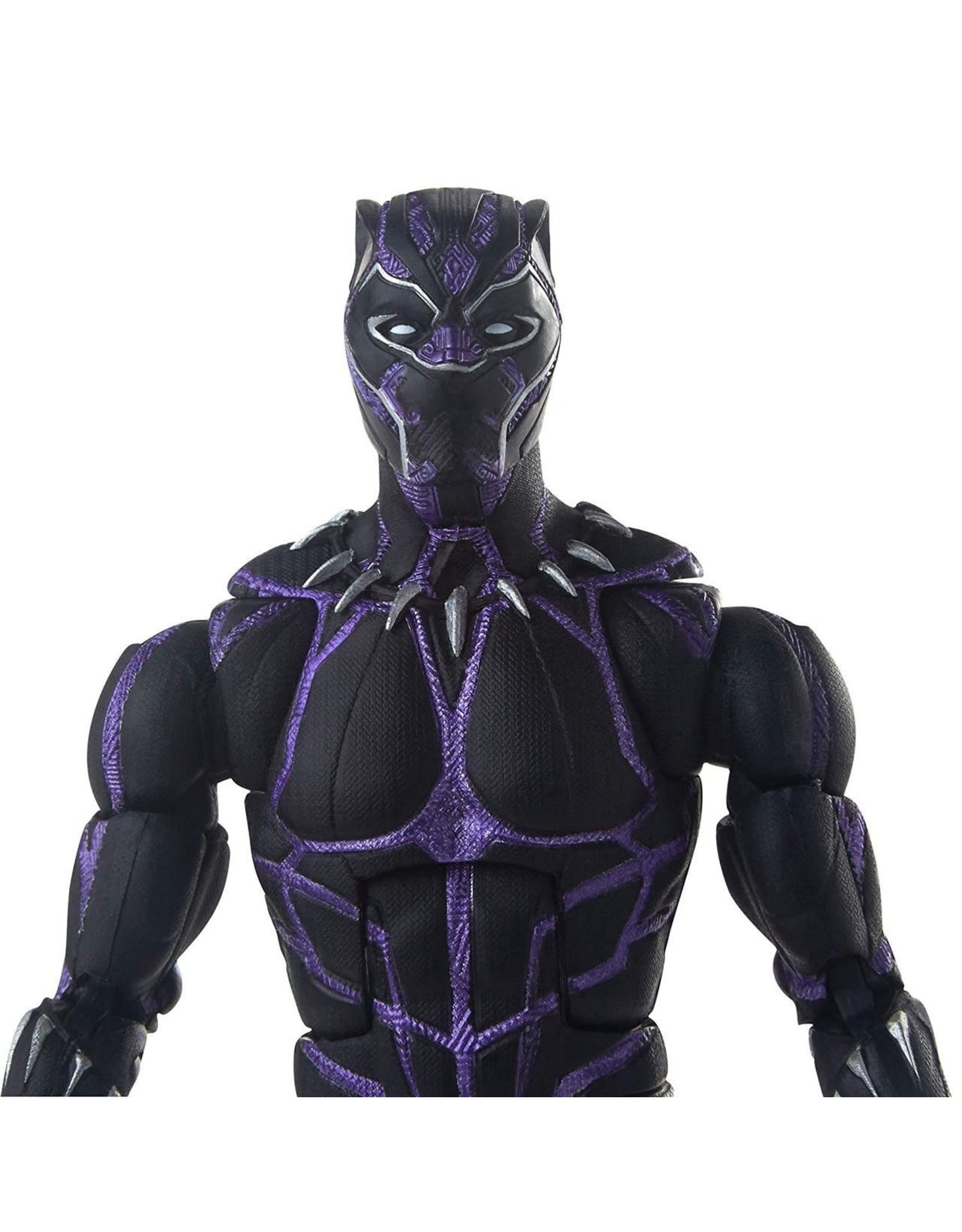 Black Panther Marvel Legends Vibranium Black Panther Action Figure with M/'Baku B