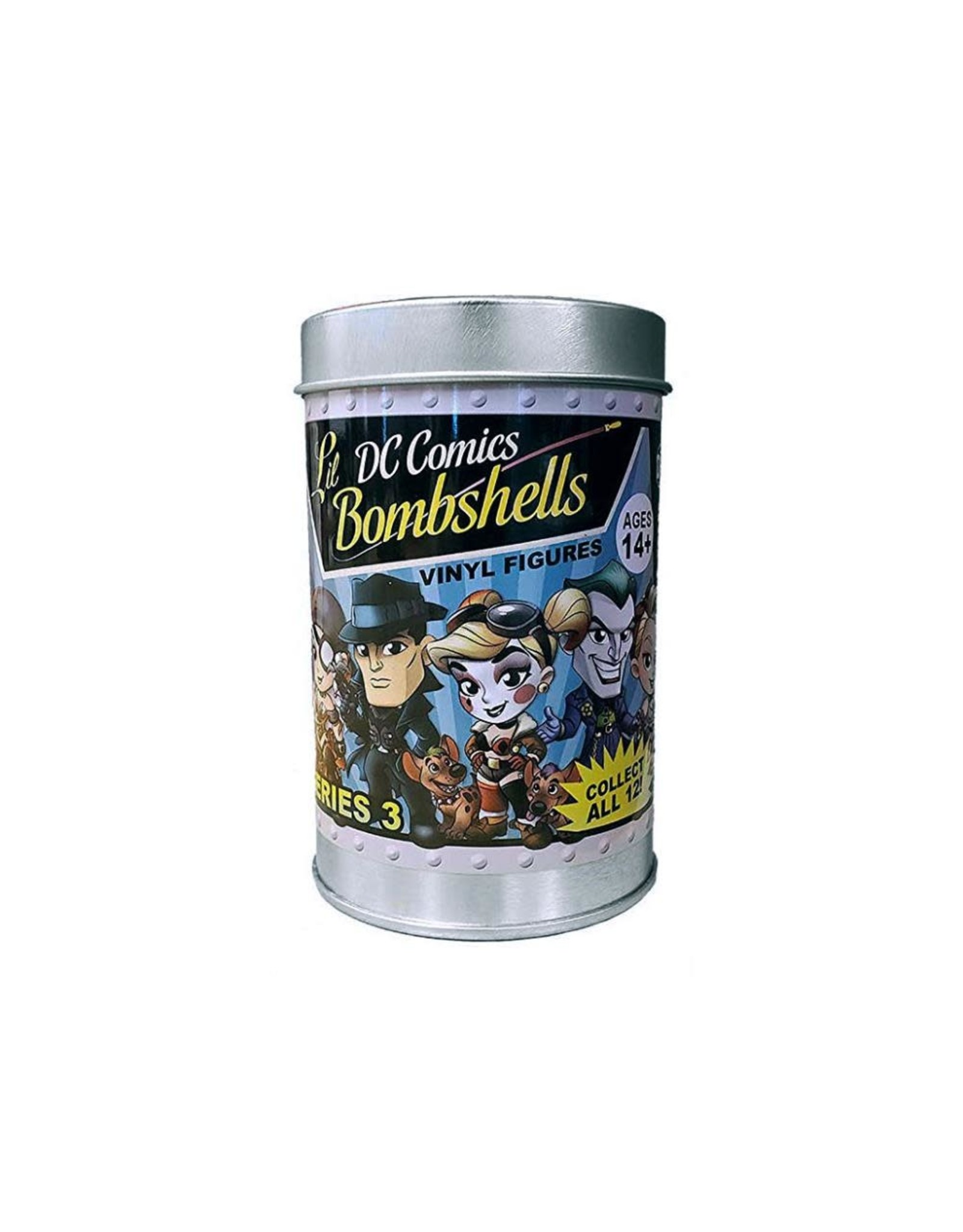 "Cryptozoic Entertainment DC Comics Lil' Bombshells Series 3 Vinyl Blindbox 2.75"" Individual Figure"