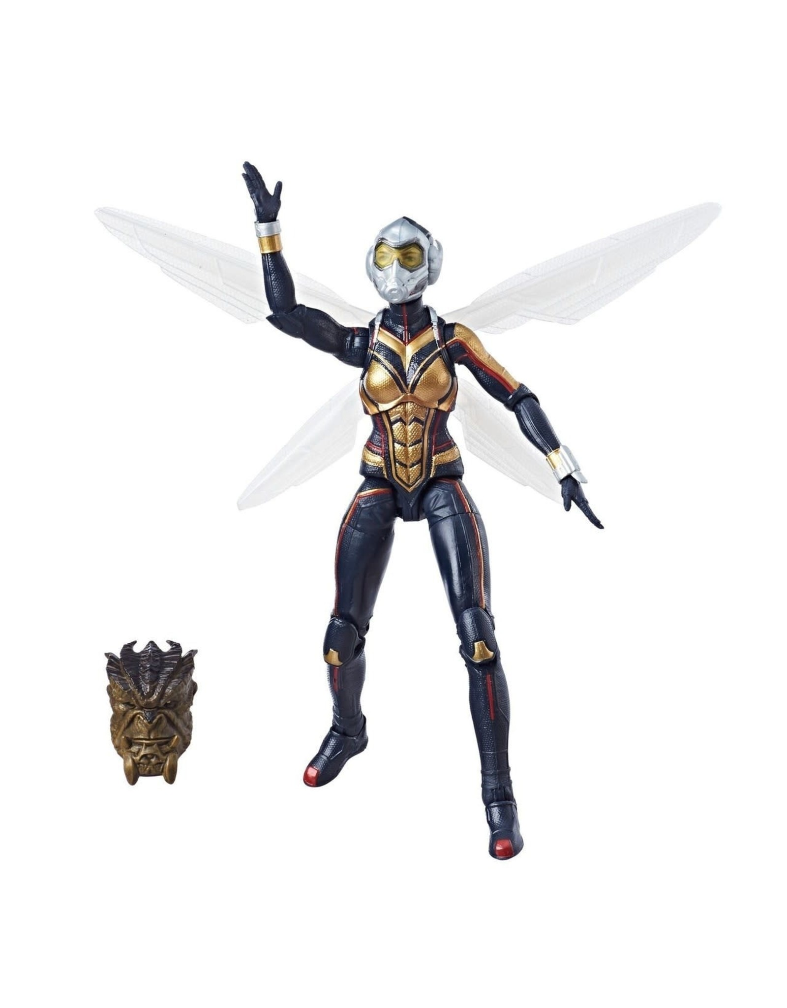 "Hasbro Ant-Man and the Wasp Marvel Legends 6"" Wasp (Cull Obsidian BAF)"