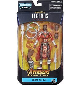 "Hasbro Marvel Legends Series Avengers: Infinity War 6"" Dora Milaje Action Figure (M'Baku BAF)"