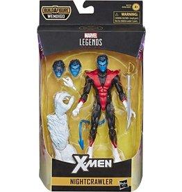 "Hasbro X-Force Marvel Legends 6"" Nightcrawler Action Figure (Wendigo  BAF)"