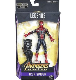 "Hasbro Avengers Infinity War Marvel Legends 6"" Iron Spider Action Figure (Thanos BAF)"