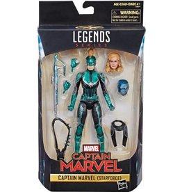 "Hasbro Marvel Legends 6"" Captain Marvel (Starforce) Exclusive Action Figure"