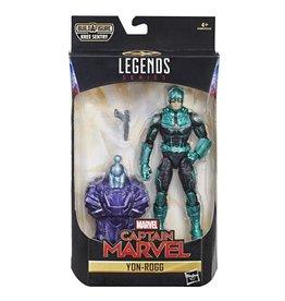 """Hasbro Captain Marvel Marvel Legends 6"""" Yon-Rogg (Kree Sentry BAF)"""
