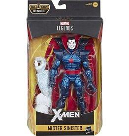 """Hasbro X-Force Marvel Legends X-Men 6"""" Mister Sinister Action Figure (Wendigo BAF)"""